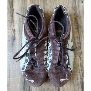 Puma Cheetah Print Sneakers